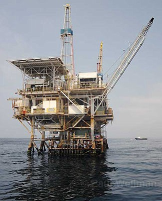 Pricey Petroleum:  Record gas prices have put the pressure on politicians to come up with a solution. Gov. Arnold Schwarzenegger and Rep. Lois Capps both oppose any offshore drilling, but a recent poll shows the majority of Californians are for it.