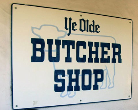 Ye Olde Butcher Shop