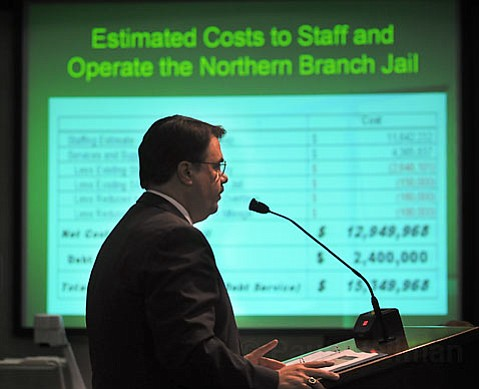 Change in plans: Sheriff Bill Brown won't see a joint jail and reentry facility in the North County. Instead, new plans call for the reentry facility to go to Paso Robles, while the $80 million jail would remain in North County.