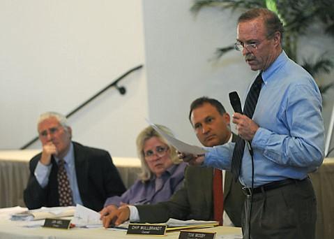 left to right: Dick Shaikewitz, Jan Abel, Chip Wullbrandt, Tom Moseby