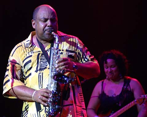 Gerald Albright will be just one of the jazz stars appearing at the Gatsby Jazz Festival this Saturday at the Santa Barbara Polo & Racquet Club.