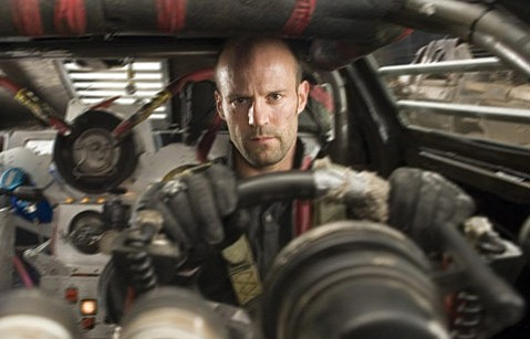 It's more crazy driving for Jason Statham, of The Transporter movies, as he races-in prison, in the future-in the violent Death Race.