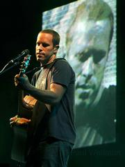 Jack Johnson returned to UCSB Wednesday for an Earth-friendly evening.