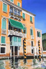 "John Carlander's ""Venice on the Grand Canal"" (2005)."