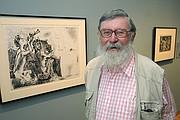 Curator Alfred Moir
