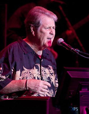 Former Beach Boy Brian Wilson played a mix of oldies, goodies, and tunes from his new album, <em>That Lucky Old Sun</em>, during last Wednesday's show at the Lobero.