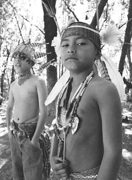 "Rick Nahmias's ""Indian Boys, Federated Indians of Graton Rancheria."""