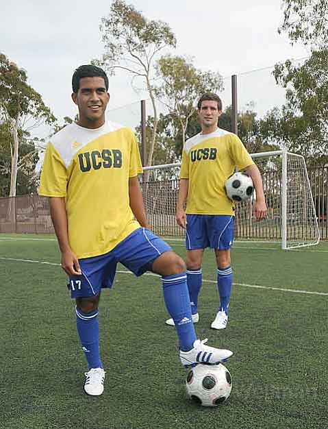 UCSB is counting on Bryan Dominguez (left) and Chris Pontius to score some goals for the men's soccer team, especially in upcoming matches against Evansville and Wake Forest.
