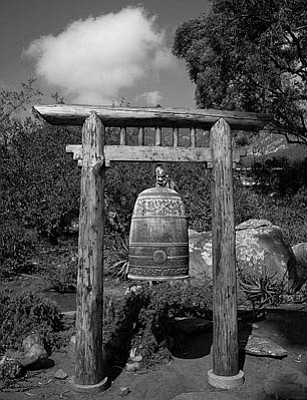 Chinese Bell at the Vedanta Temple