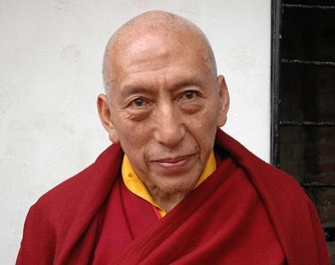 Samdhong Lobsang Tenzin Rinpoche, Prime Minister of Tibet's exiled government.