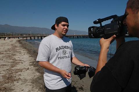 Cinemedia student Jose Almanza breaks down why littering is bad for West Beach.
