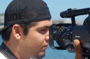 Learning how to present oneself on camera is just one skill taught to Jose Almanza by Youth Cinemedia.