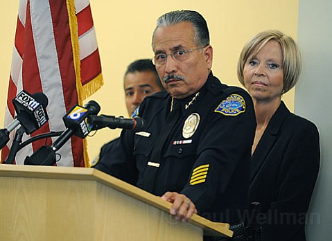 Police Chief Cam Sanchez warned that today's bust is only the beginning