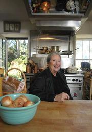 Sherry in the Old Masani Adobe kitchen