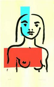 """""""Looking Out"""", original serigraph on Basingwerk Heavyweight paper, 18 x 11 inches (paper size: 22 x 15 """"), 2008"""