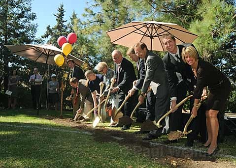Westmont College breaks ground on 2 new projects, the new Center for Visual Arts and the Hall for Science and Mathematics