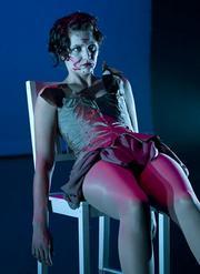 Erin Brehm as Julius Caesar.