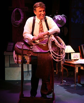 Rich Hoag has become the definitive modern Will Rogers in his one-man show, now at the Rubicon Theatre in Ventura.