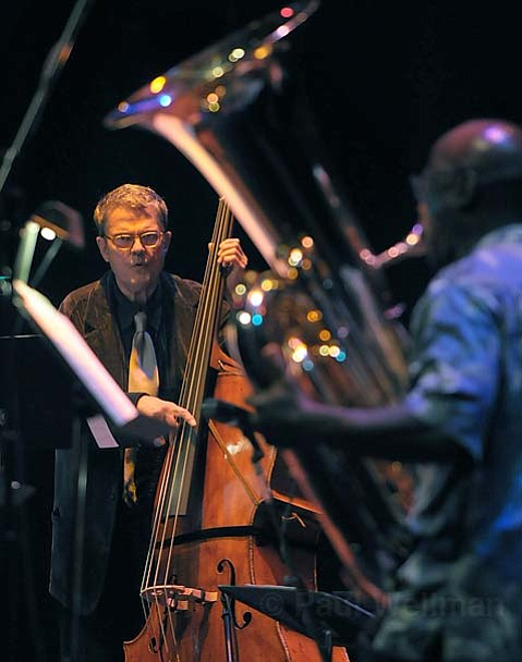 Charlie Haden (pictured) led his Liberation Music Orchestra through a stunning string of politically charged music this past Saturday night at the Lobero.