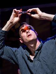Joe Jordan as Peter, the insect-obsessed protagonist of <em>Bug</em>.