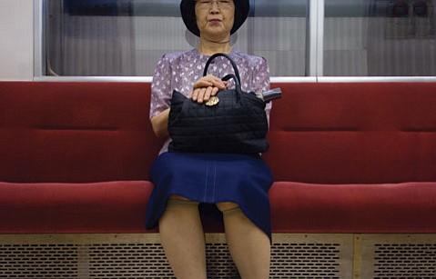 "Sky Bergman's  ""Japanese subway."""