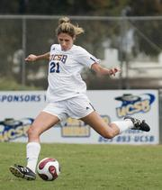 Genelle Ives is the leading scorer for the UCSB women's soccer team, which has earned a bid to the NCAA tournament for the first time in 17 years.