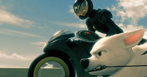 John Travolta provides the voice of <em>Bolt</em>, a Hollywood pooch on a journey of self-discovery.