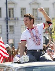 Sean Penn as Harvey Milk.