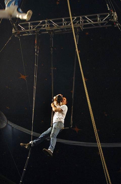 Paul Wellman, dangling.