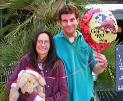 Tea Fire victims Lance and Carla Hoffman were released from a UC Irvine burn center on January 14.