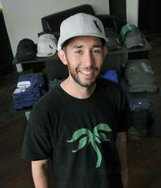 Cali Green founder Chris Scott in the store's newly opened location at 1 West Ortega Street.