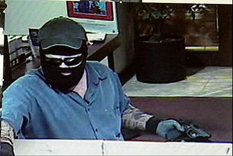 Bank robbery at Los Padres bank.