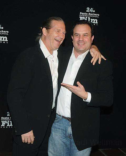 Actor Jeff Bridges (left) and Writer Director Rod Lurie