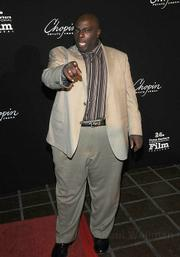 "Actor and SBIFF 2009 film juror Gary Anthony Williams makes it clear that ""Oh, you're going to want a photo of me."""