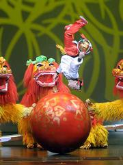 The Peking Acrobats brought their stunning gymnastic skills to the Granada last Friday night.