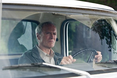 Clint Eastwood directs and stars as Korean War vet Walt Kowalski in <em>Gran Torino</em>.