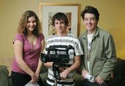 L to R Lauren Parsons (actress), Robert Johnson (DP/ cinema photographer), and Miles Dixon (director/actor)