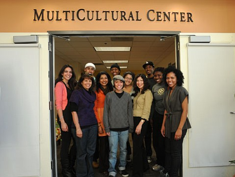 The cheerful crew at UCSB's MultiCultural Center.