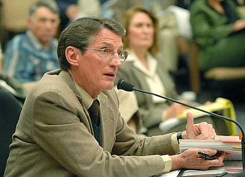 Santa Barbara County's assistant CEO John Baker is now in charge of the fate of Greka's fines.