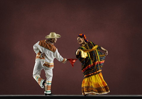 One of California's principal Mexican folk dance companies, Instituto Mazatl¡n Bellas Artes, is taking S.B. by storm this week.