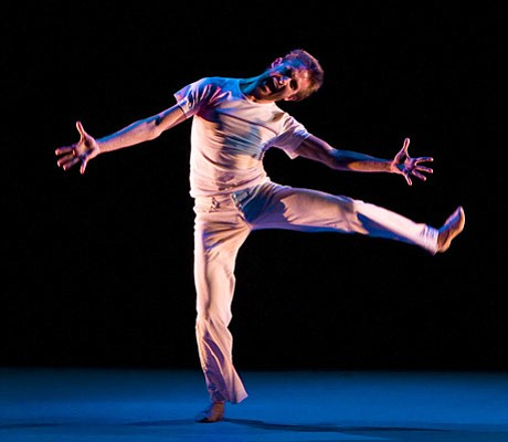 """Brett Perry danced with delicious abandon in """"A Day in the Life."""""""