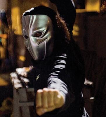 Taboo as Vega in <em>Street Fighter: The Legend of Chun Li</em>.