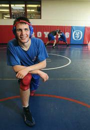 San Marcos High School wrestler Zach Belway