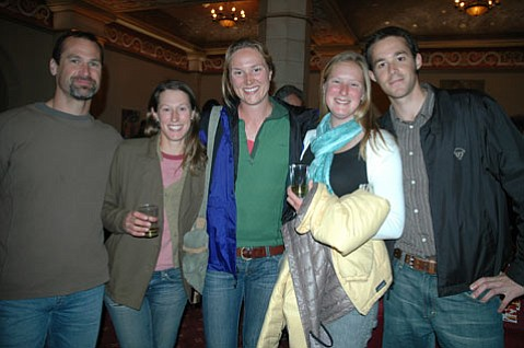 Steve Graves, Aliza Segal, Sarah Rathbone, Tucker Hirsch, and Andrew Berner