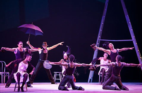 """Alvin Ailey's """"Blues Suite,"""" the work with which the company premiered in 1958."""