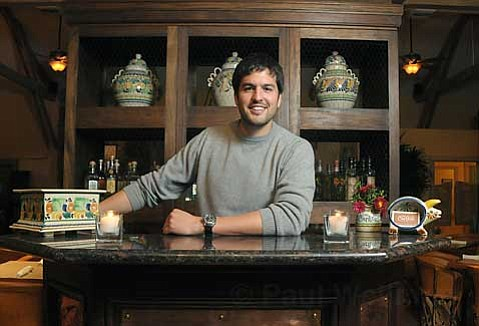 Dos Carlitos owner Carlos L³pez-Hollis is excited about his new restaurant's emphasis on tequila.