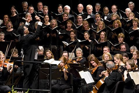 The Santa Barbara Choral Society will be appearing with the S.B. Symphony on Saturday, April 18, and Sunday, April 19, at the Granada Theatre.