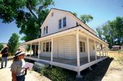 El Saucito Ranch homestead.