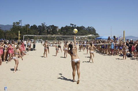 All Sorority Volleyball Tournament Spikes Its Way To Success