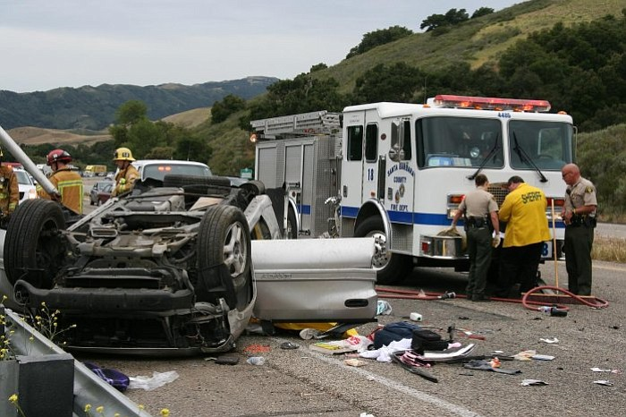 Fatality crash on 101, Nojoqui Summit